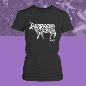 Tee-shirt Aubrac femme